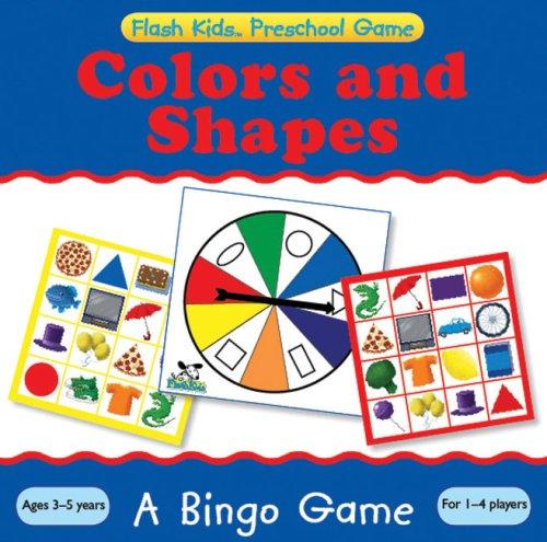 Preschool Games: Colors and Shapes Bingo (Flash Kids Preschool Games): Flash Kids Editors [Editor]
