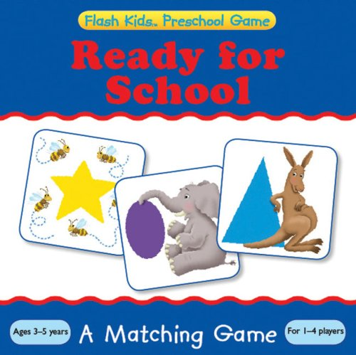 9781411498228: Ready for School: A Matching Game (Flash Kids Preschool Games)