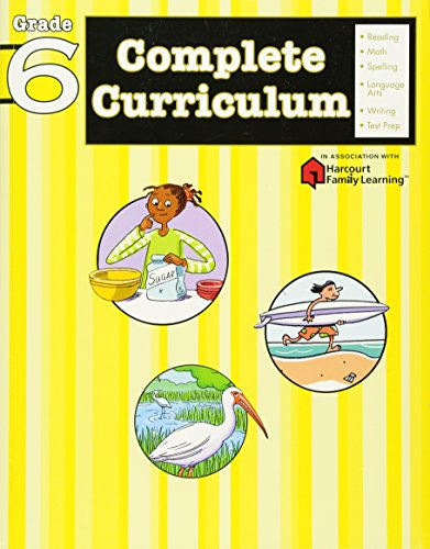 9781411498792: Complete Curriculum Grade 6 (Flash Kids Harcourt Family Learning)