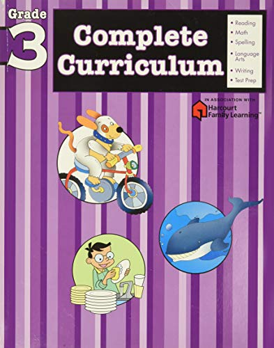 9781411498822: Complete Curriculum: Grade 3 (Flash Kids Harcourt Family Learning)