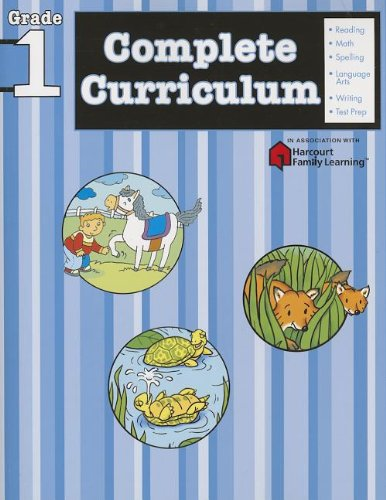 9781411498846: Complete Curriculum, Grade 1 (Flash Kids Harcourt Family Learning)