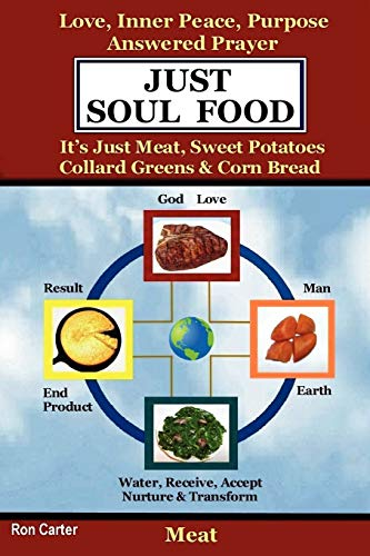 Just Soul Food - Meat / Love, Inner Peace, Purpose, Answered Prayer. It's Just Meat, Sweet Potatoes, Collard Greens & Corn Bread (1411604520) by Ron Carter