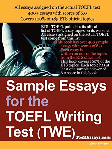 9781411607743: Sample Essays For The TOEFL Writing Test (TWE)