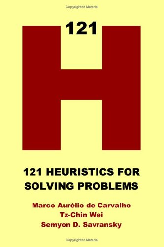 9781411616899: 121 Heuristics for Solving Problems