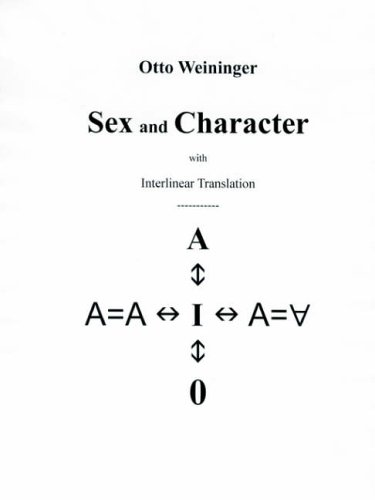 9781411618732: Sex and Character (English and German Edition)