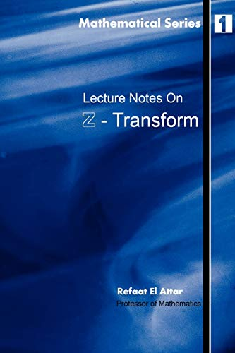 9781411619791: Lecture notes on Z-Transform