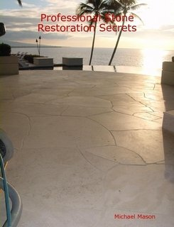 9781411628571: Professional Stone Restoration Secrets