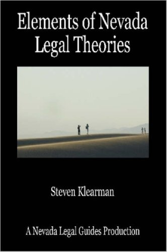 9781411631243: Elements of Nevada Legal Theories
