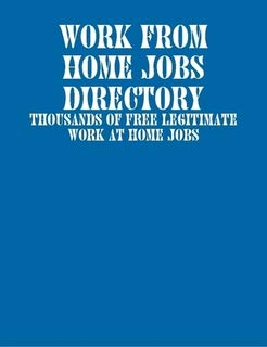 9781411655584: Work From Home Jobs Directory