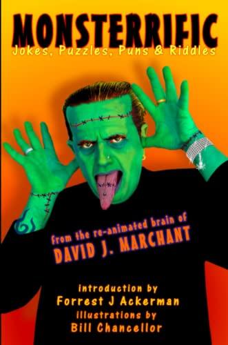Monsterrific Jokes, Puzzles, Puns Riddles (Paperback): J David Marchant