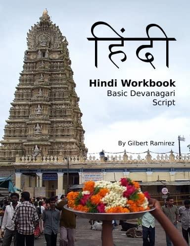 Hindi Workbook: Basic Devanagari Script: Ramirez, Gilbert