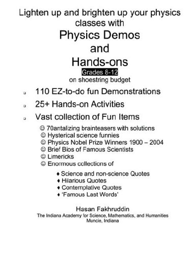 9781411681620: Physics Demos and Hands-Ons
