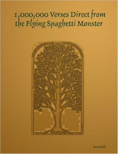 9781411699748: 1,000,000 Verses Direct from the Flying Spaghetti Monster