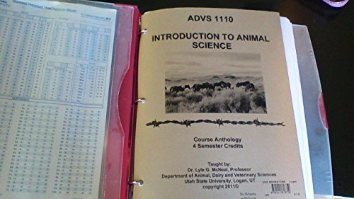 9781411818750: ADVS 1110 Introduction to Animal Science