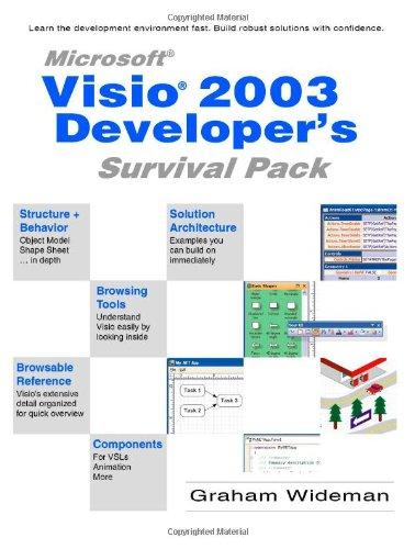 9781412011129: Visio 2003 Developer's Survival Pack
