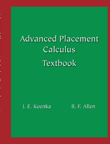 9781412058742: Advanced Placement Calculus AB