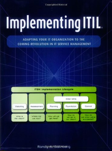9781412066181: Implementing ITIL: Adapting Your IT Organization to the Coming Revolution in IT Service Management