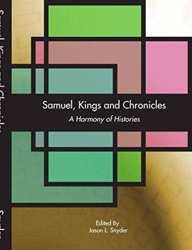9781412069786: Samuel, Kings and Chronicles: A Harmony of Histories