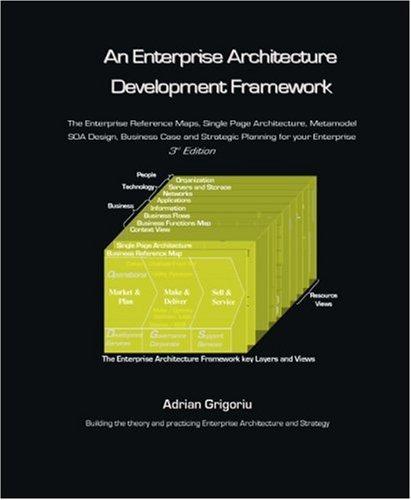 9781412086653: An Enterprise Architecture Development Framework: The Business Case, Best Practices and Strategic Planning for Building Your Enterprise Architecture
