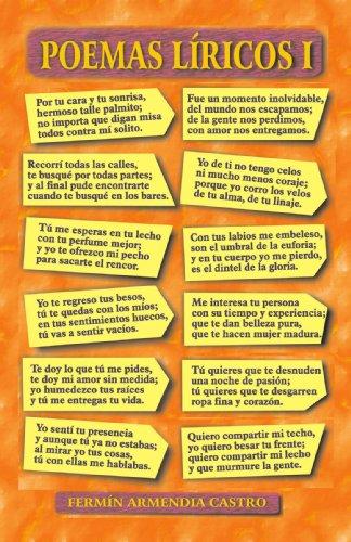 9781412091749: Poemas L�ricos I