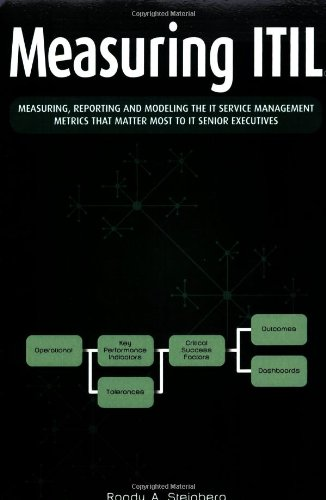 9781412093927: Measuring ITIL: Measuring, Reporting and Modeling - The IT Service Management Metrics That Matter Most to IT Senior Executives