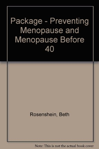 9781412094252: Package - Preventing Menopause and Menopause Before 40