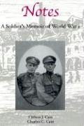 Notes: A Soldier's Memoir of World War I: Clifton J. Cate