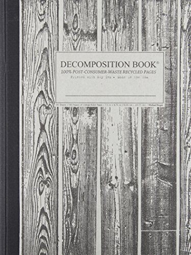 9781412405720: Beachwood Decomposition Book: College-ruled Composition Notebook With 100% Post-consumer-waste Recycled Pages