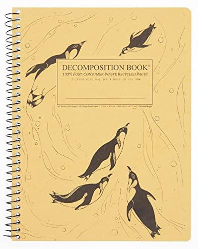 King Penguins Coilbound Decomposition Book: Michael Roger Inc.