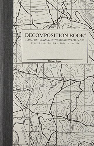 9781412438056: Topographical Map Pocket Sized Decomposition Book: Grid-ruled Composition Notebook With 100% Post-consumer-waste Recycled Pages