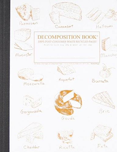 9781412447768: Fromage Collage Decomposition Book: College-ruled Composition Notebook With 100% Post-consumer-waste Recycled Pages