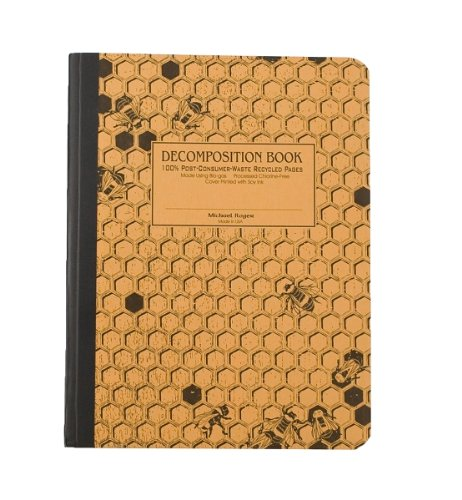 9781412461504: Honeycomb Decomposition Book: College-ruled Composition Notebook With 100% Post-consumer-waste Recycled Pages
