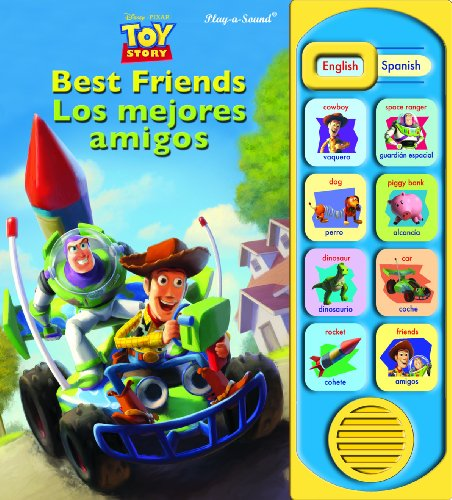 9781412702690: Toy Story Best Friends/Los Mejores Amigos (Little English Spanish Book)