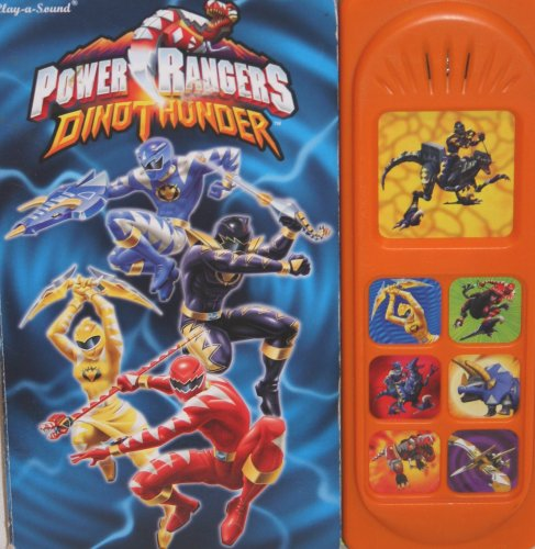 9781412704939: Power Rangers Dino Thunder play a sound book