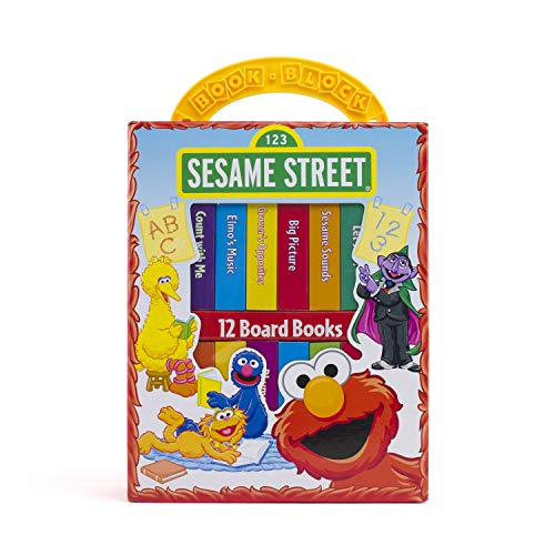 Sesame Street My First Library Set (Hardcover)