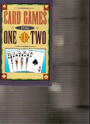 9781412711401: Card Games for One or Two