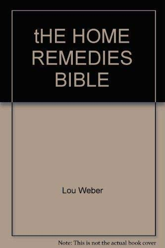 9781412712613: tHE HOME REMEDIES BIBLE