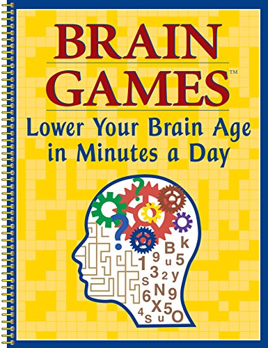 9781412713924: Brain Games : Lower Your Brain Age in Minutes a Day
