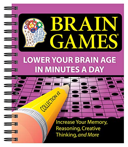 9781412714518: Brain Games #2: Lower Your Brain Age in Minutes a Day