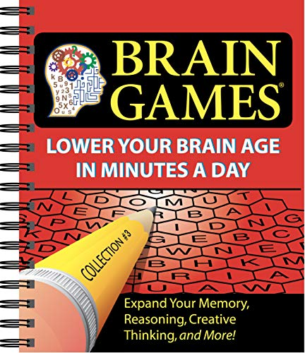 9781412714525: Brain Games #3: Lower Your Brain Age in Minutes a Day (Brain Games (Numbered))