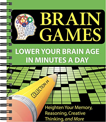 9781412714532: Brain Games #4: Lower Your Brain Age in Minutes a Day (Volume 4) (Brain Games - Lower Your Brain Age in Minutes a Day)
