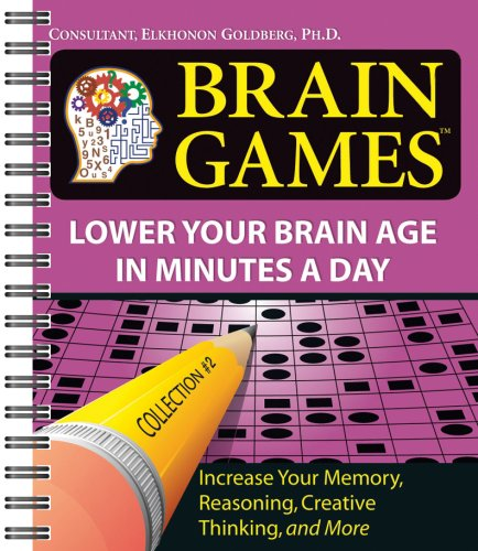 9781412716123: Brain Games #2: Lower Your Brain Age in Minutes a Day (Brain Games (Unnumbered))