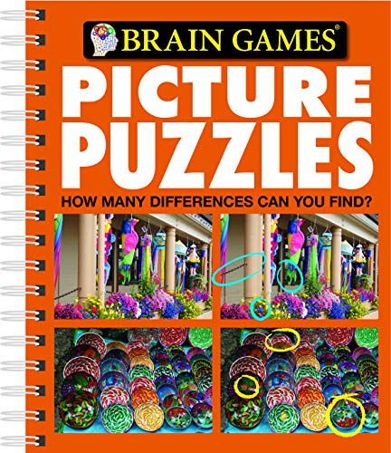 9781412716581: Brain Games Picture Puzzles: How Many Differences Can You Find? No. 5