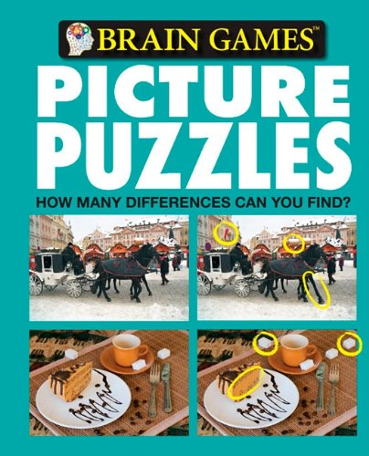 Brain Games Picture Puzzles: How Many Differences Can You Find? No. 6: Editors of Publications ...