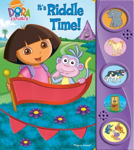 9781412716895: Play-a-Sound: Dora the Explorer, It s Riddle Time! (Dora the Explorer (Publications International))
