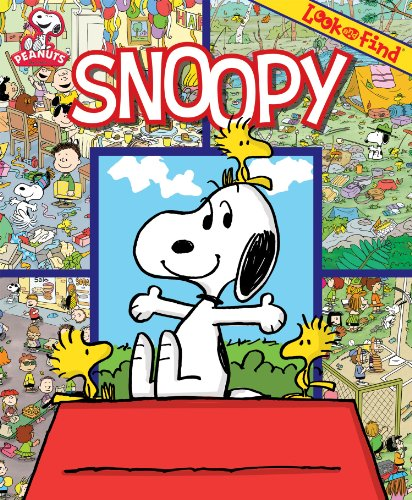 9781412717229: Look and Find: Snoopy