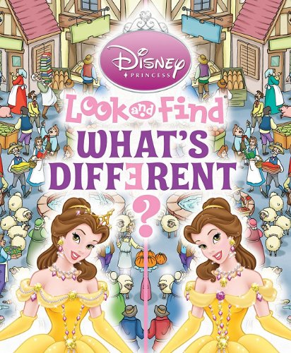 9781412717250: Disney Princesses Look and Find: What s Different?
