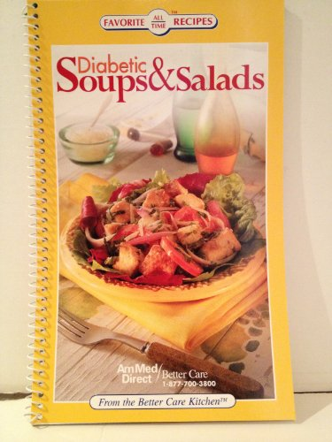9781412717427: Diabetic Soups & Salads (Favorite All Time Recipes)