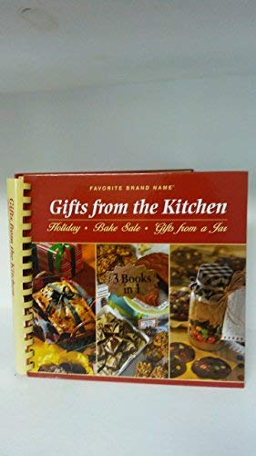 9781412720892: Favorite Brand Name Gifts From the Kitchen (3 Books in 1)