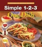 9781412723237: Simple 1-2-3 One Dish (Internal Spiral)